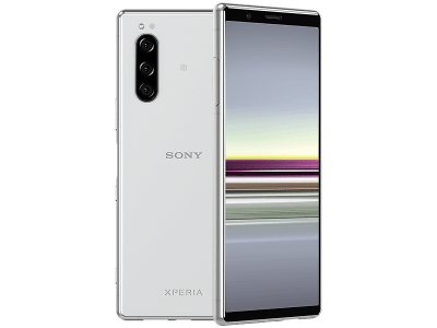 Sony Xperia 5 Grey on Vodafone