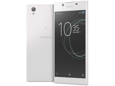 Sony Xperia L1 White with Guaranteed Cashback