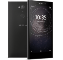 Sony Xperia L2 with Laptop