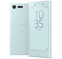 Sony Xperia X Compact Blue with Dell Chromebook