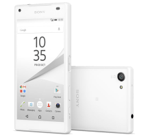 Sony Xperia X Compact White with GHD Hair Straighteners