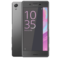 Sony Xperia X with Laptop