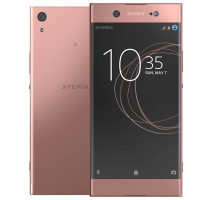 Sony Xperia XA1 Ultra Pink with iPad and Tablet