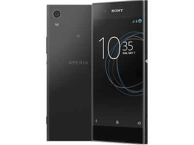 Sony Xperia XA1 with Laptop