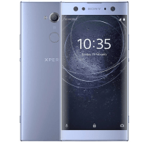 Sony Xperia XA2 Ultra with Laptop