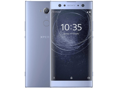 Sony Xperia XA2 Ultra with Acer Laptop