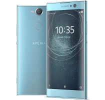 Sony Xperia XA2 with Laptop