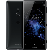 Sony Xperia XZ2 with Archos Laptop