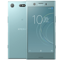 Sony Xperia XZ1 Compact Blue with iPad and Tablet
