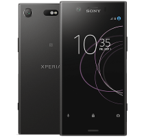 Sony Xperia XZ1 Compact with Laptop