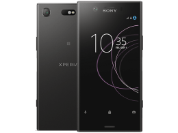 Sony Xperia XZ1 Compact with GHD Hair Straighteners