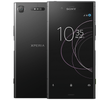 Sony Xperia XZ1 with Dell Chromebook