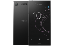 Sony Xperia XZ1 with Fitbit Flex Band
