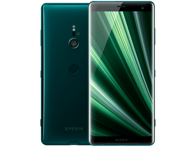 Sony Xperia XZ3 Green on O2