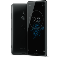 Sony Xperia XZ3 with Laptop