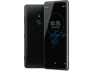 Sony Xperia XZ3 with Amazon Echo Dot