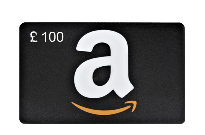 Amazon £100 Vouchers