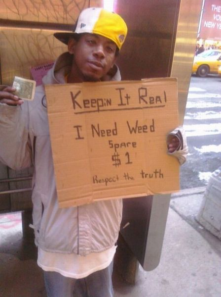 Homeless Signs With A Sense Of Humor 51 Pics