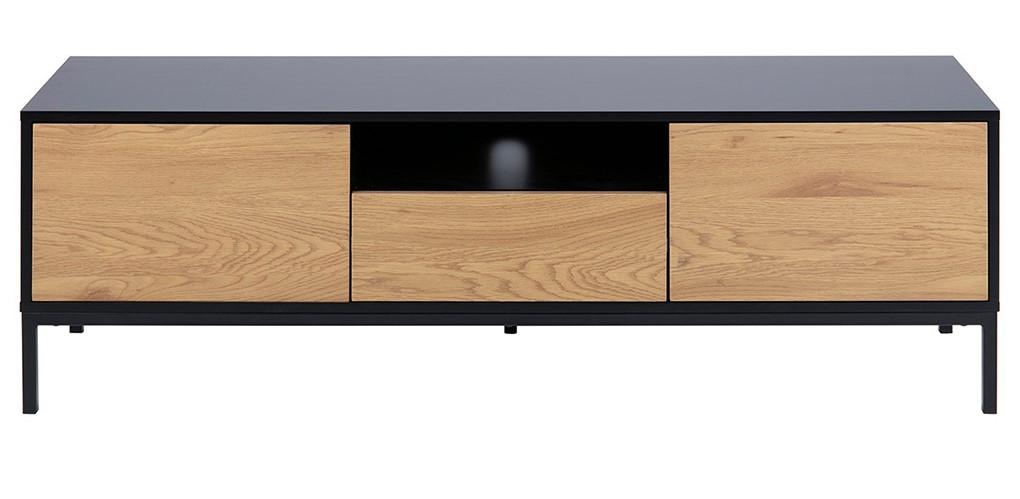meuble tv industriel tresca bois et