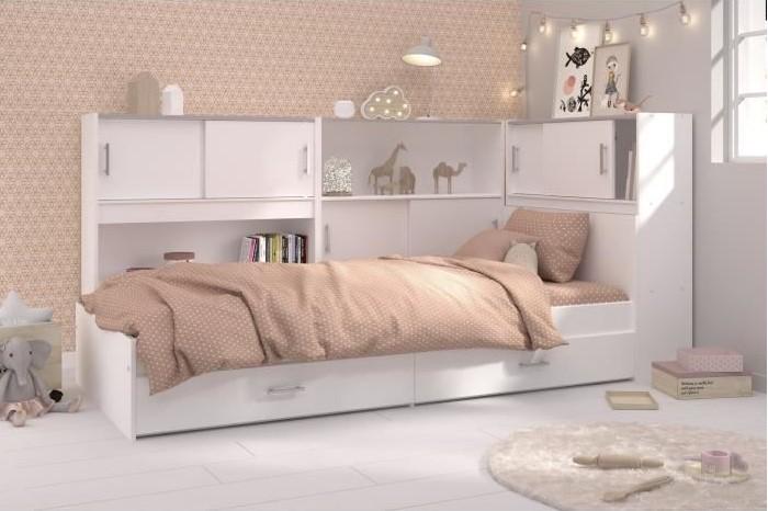 scoop lit enfant avec 3 meubles de
