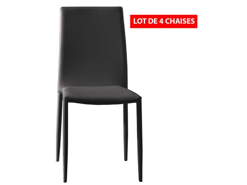 lot de 4 chaises diva chaises de