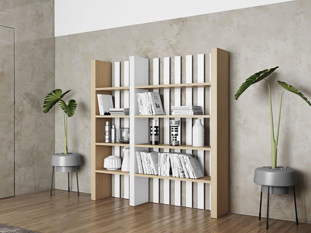 bibliotheque etageres bounce en bois