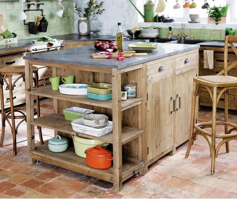 meuble de cuisine maisons du monde