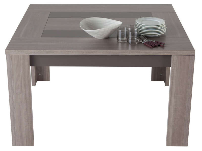 table carree 130 cm atlanta pas cher