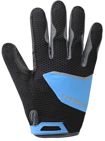 Shimano Explorer Glove Gel Uzun Eldiven Mavi XL