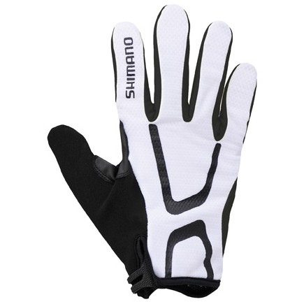 Shimano Long Gloves Light Uzun Eldiven Beyaz XXL