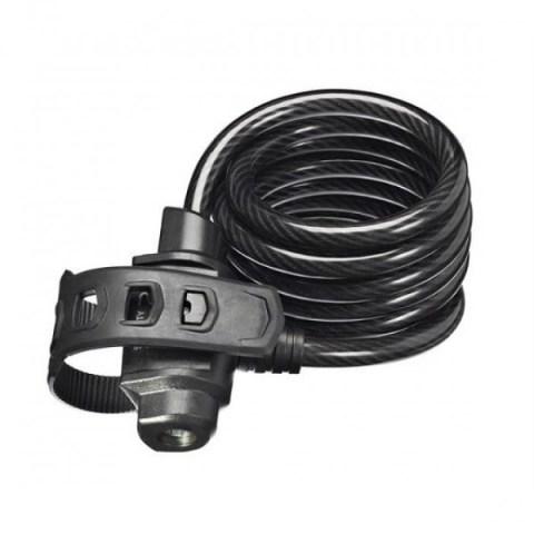 Trelock SK222 Anahtarlı Sipral Kilit 1800x10mm