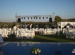 Düğün Organizasyonu Ekipman Kiralama Ses Sahne ve Işık Sistemi Temini