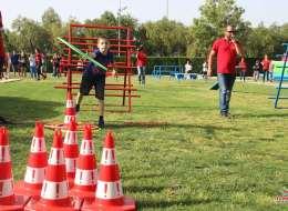 Survivor Konseptli Doğum Günü Partisi Survivor Oyun Parkuru Kiralama İzmir