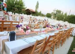 Sandalye Kiralama Servisi İzmir Organizasyon