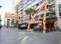 Zincir Balon Süsleme İzmir