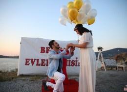 Evlenme Teklifi Organizasyonu Evlilik Teklifi Anı