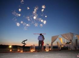 Sürpriz Evlilik Teklifi Organizasyonu Havai Fişek Gösterisi İzmir