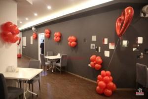 Açılış Organizasyonu Papatya Balon Süsleme Hizmeti İzmir Organizasyon