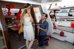 izmir teknede evlenme teklifi tekne kiralama 14 - Teknede Evlenme Teklifi Organizasyonu