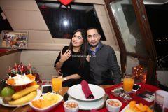 Mutluluk Teknesi Evlenme teklifi Organizasyonu Ruken Mehmet 8 1 - Mutluluk Teknesi'nde Kemanlı Evlilik Teklifi Organizasyonu