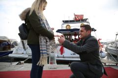 izmir tekne kiralama 5 - Teknede Evlilik Teklifi Organizasyonu 2