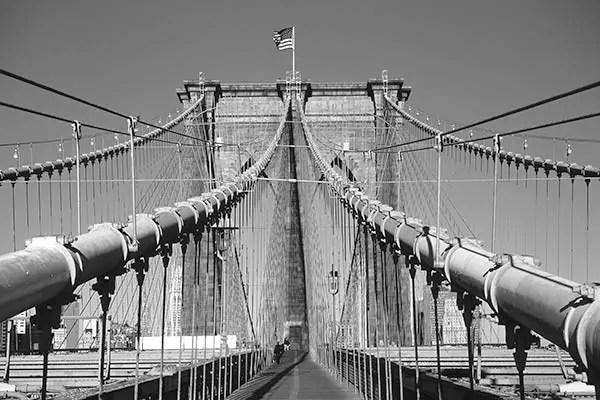 Papier Peint Photo Pont De New York Izoa