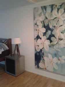 Tableau Fleurs Printemps Izoa chez Sarah
