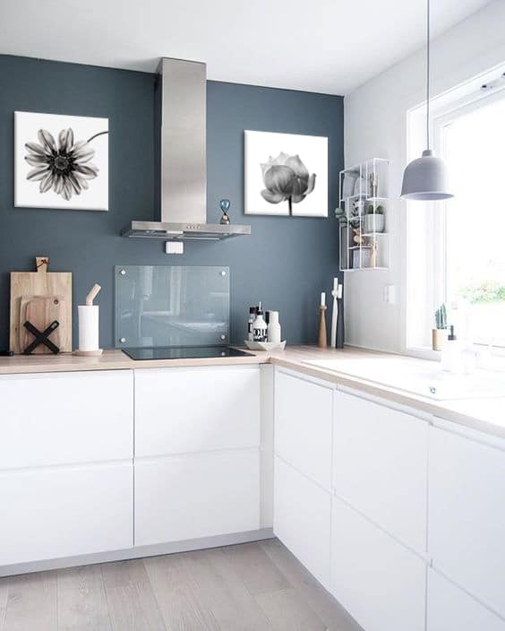 Je Dcore Ma Cuisine Blanche Blog Toile Design Et