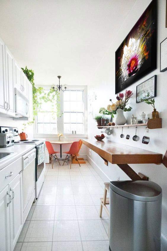 am nager et d corer une cuisine en longueur blog toile design et moderne d 39 izoa. Black Bedroom Furniture Sets. Home Design Ideas