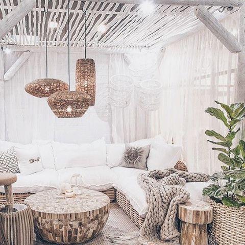 décoration salon rustique image pinterest