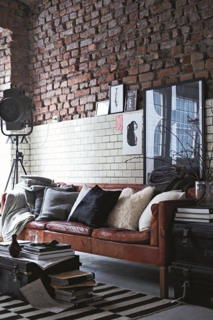 deco salon style industriel vintage