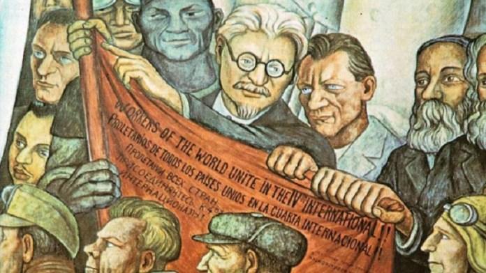 Resultado de imagen para Fotos de la fundación de la Cuarta Internacional elaborada por León Trotski
