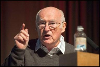 Peter Taaffe, secretario general del Socialist Party de Gran Bretaña y Gales