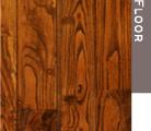 伊豆焼き栗の木の床